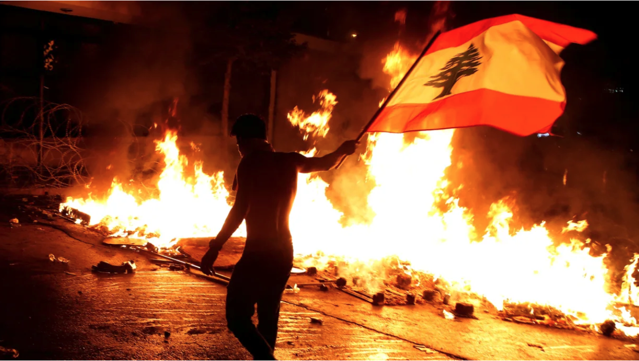 Hundreds injured in Lebanon amid continued crackdown of anti-government protests