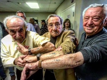 Holocaust survivors from same camps in Auschwitz met for the first time after 72 years