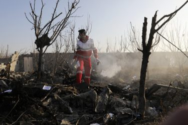 Security footage confirms Iranian military shot down Ukraine passenger jet