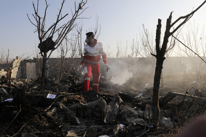 Security footage confirms Iranian military shot down Ukraine passenger jet