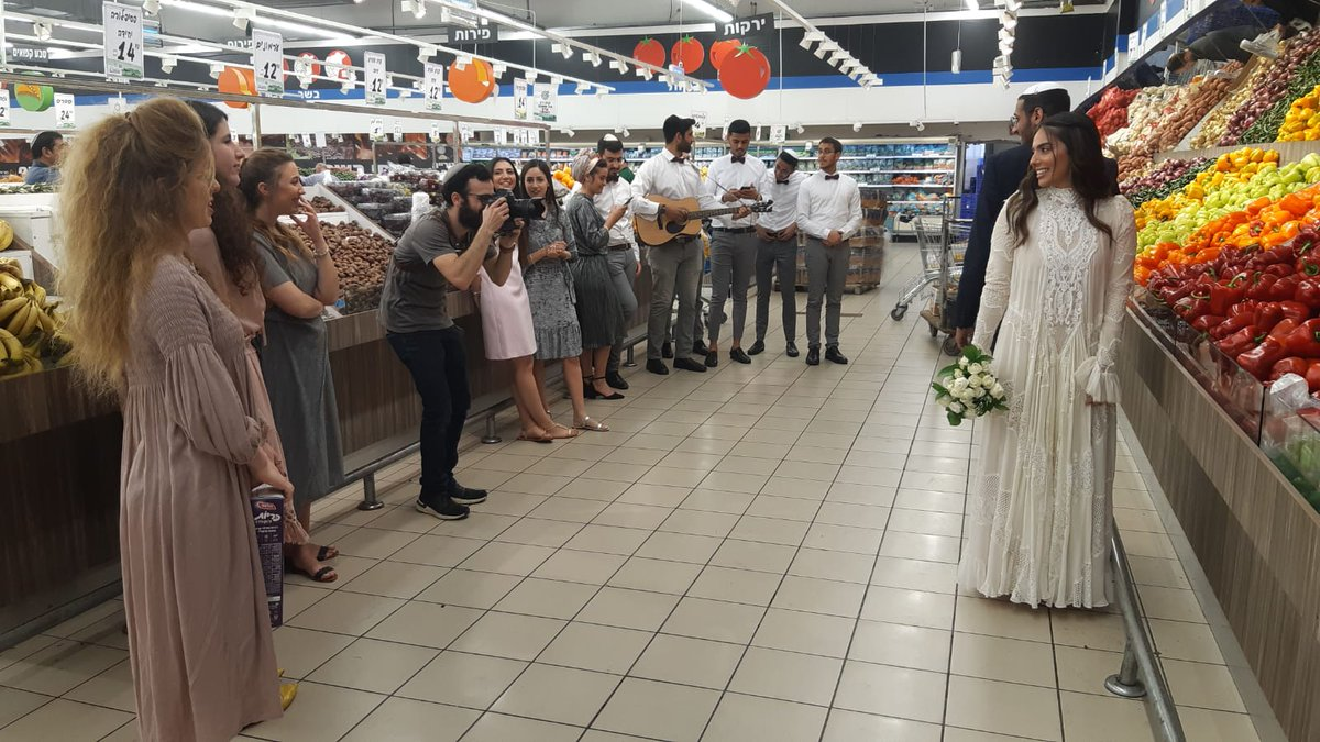 Israeli Couples Still Having Weddings Despite Government Lockdown Due To Coronavirus