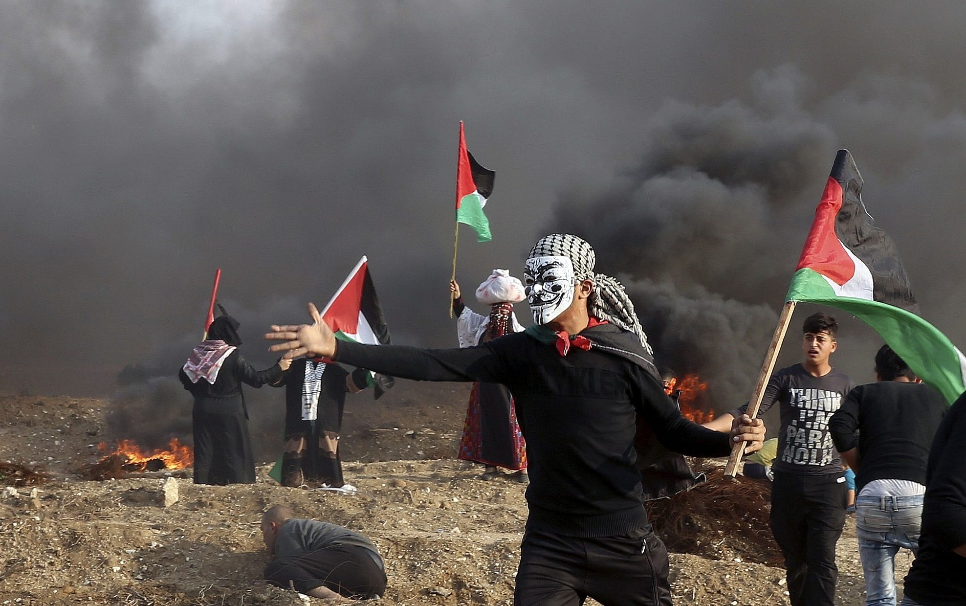 Palestinian officers will respond to annexation with violence