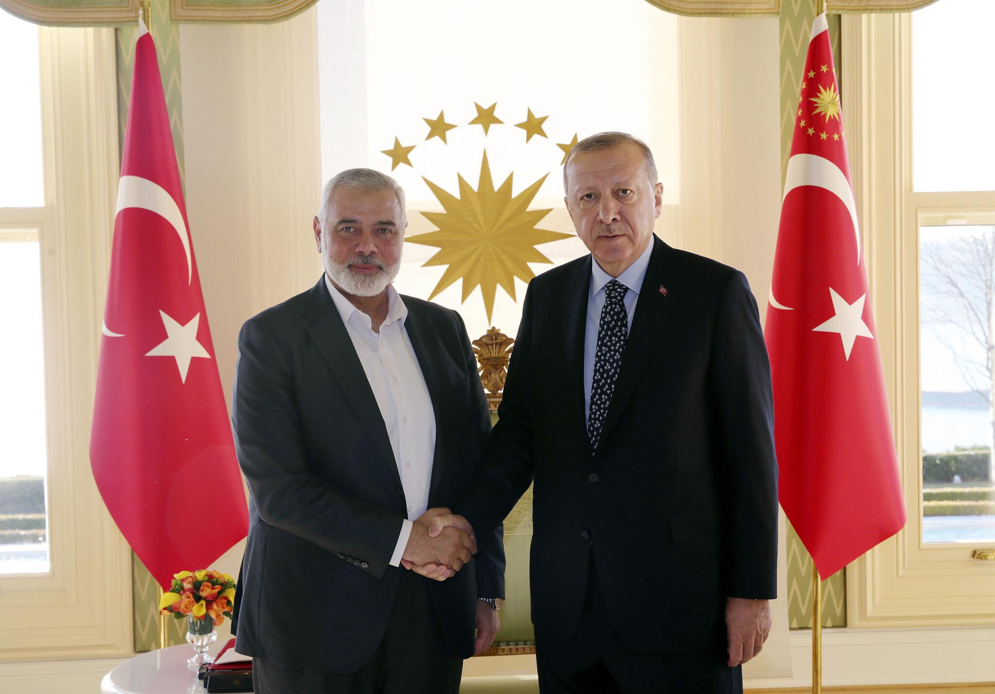 Turkey gave citizenship to Hamas members planning terror attacks