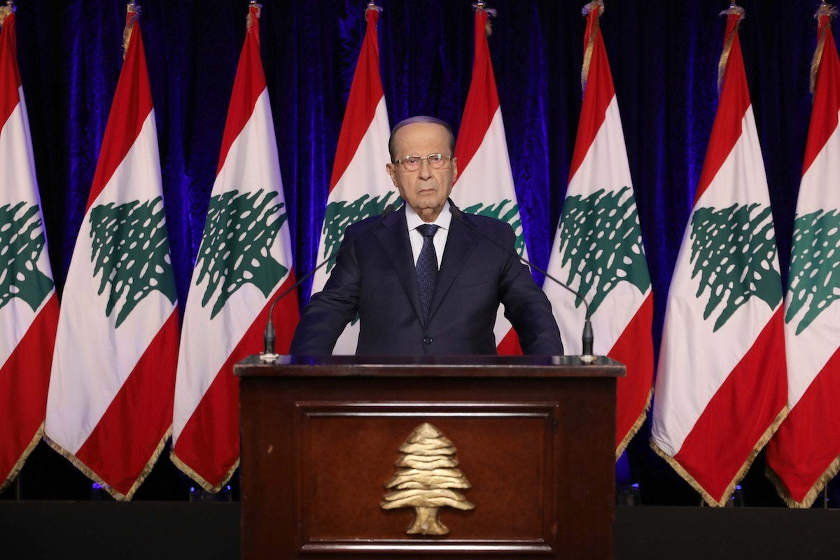 Lebanon president says open to Israel peace talks
