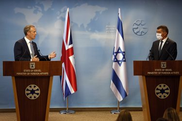 UK Foreign Minister on Discussions About Iran Upon Arrival in Israel