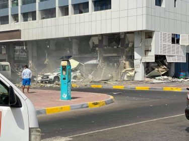 Three people killed and several hurt in two UAE restaurant blasts