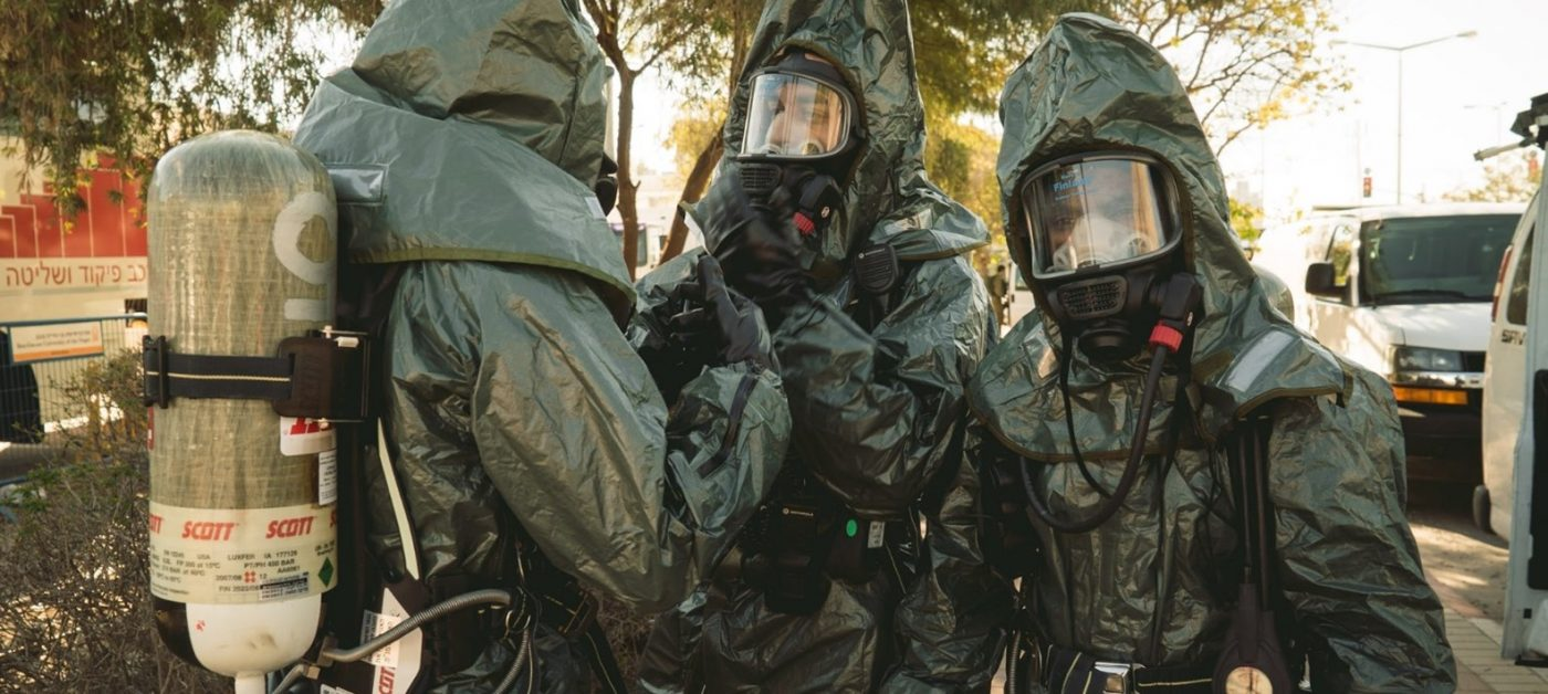 Report Says IDF Is Not Prepared for a Big Scale Chemical Attack