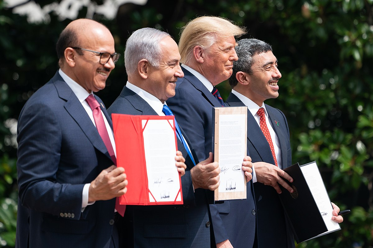 Israel Builds Up Full Ties with Bahrain, UAE At White House