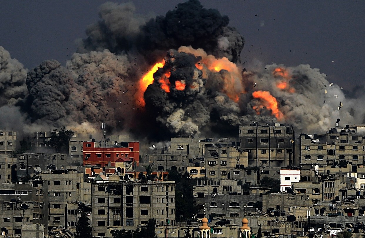 7 Israelis Killed As Violence Intensifies In Gaza Strip